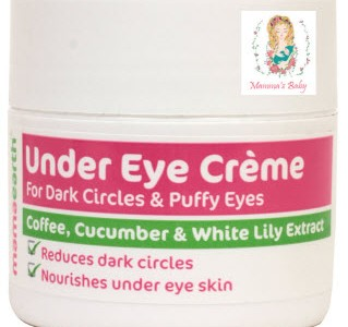 image showing mama earth under eye cream